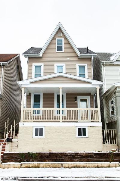 Altoona Single Family Home For Sale: 223 Crawford Ave