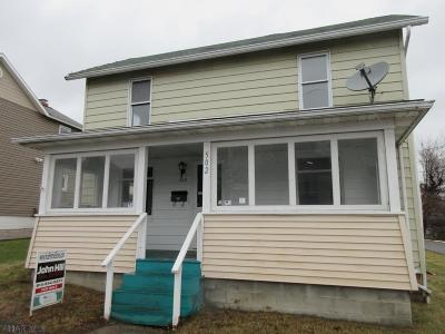 Patton PA Single Family Home Sold: $25,000