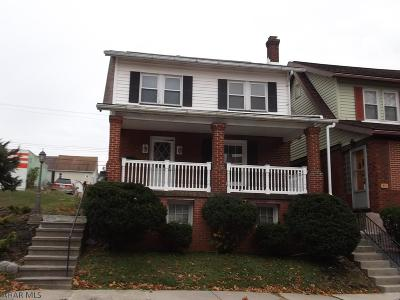 Blair County Single Family Home For Sale: 409 Bell Avenue