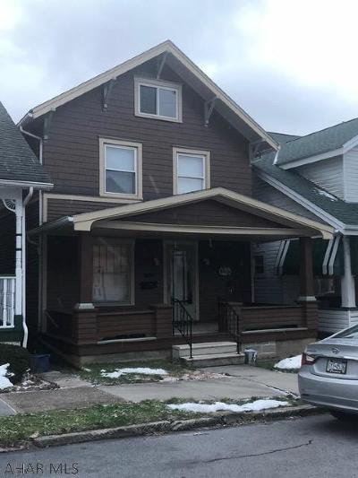 Altoona Single Family Home For Sale: 514 N 6th Ave