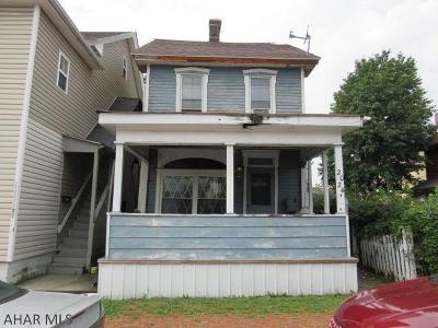 Altoona Single Family Home For Sale: 2024 5th Ave