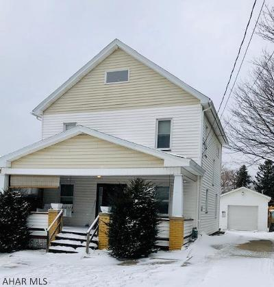 Cresson, Lilly Single Family Home For Sale: 605 Keystone Avenue