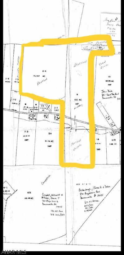 Residential Lots & Land For Sale: 1340 Dry Run Road