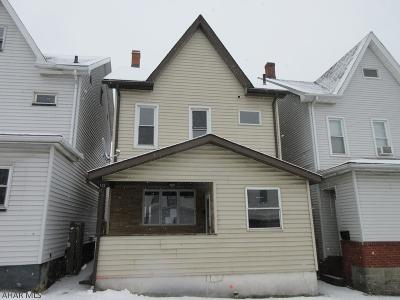 Altoona PA Single Family Home Sold: $24,000