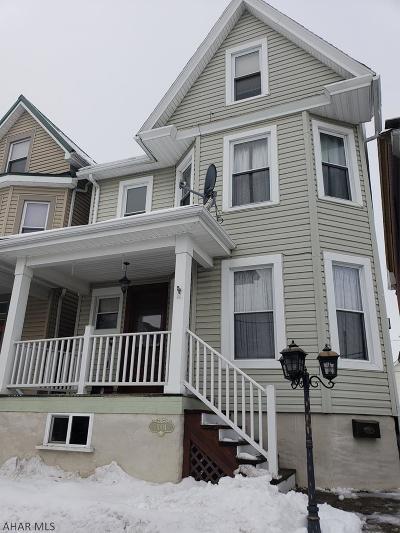 Altoona Single Family Home For Sale: 1004 23rd Avenue