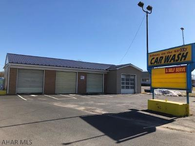 Blair County Commercial For Sale: 7654 Woodbury Pike