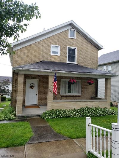 Ebensburg Single Family Home For Sale: 304 W Lloyd Street