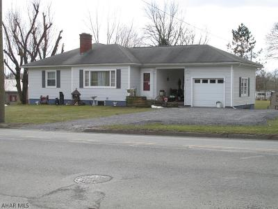Martinsburg, Roaring Spring, East Freedom, New Enterprise, Woodbury Single Family Home For Sale: 311 W Allegheny Street