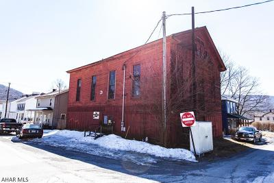 Blair County Commercial For Sale: 1112 Washington Ave