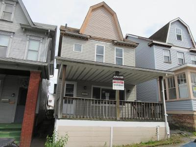 Altoona PA Single Family Home For Sale: $36,000