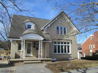 Altoona PA Single Family Home For Sale: $139,900