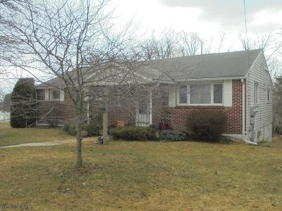 Ebensburg Single Family Home For Sale: 3266 New Germany Road