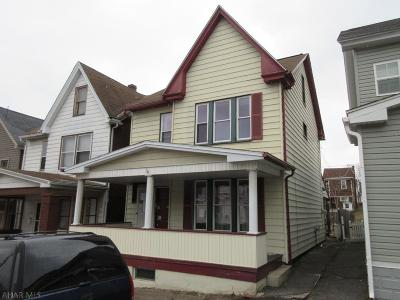 Altoona PA Single Family Home Sold: $19,500