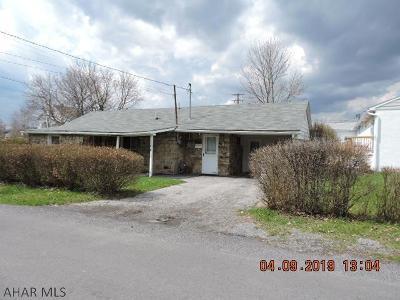 Blair County Single Family Home For Sale: 308 Tennyson Ave