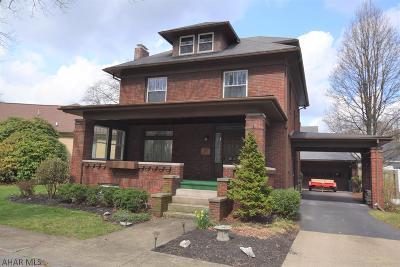 Altoona Single Family Home For Sale: 3512 Shawnee Ave