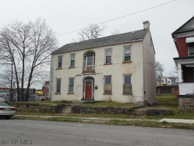 Blair County Multi Family Home For Sale: 209 Mulberry St.