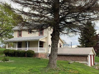 Single Family Home For Sale: 1222 Tulls Hill