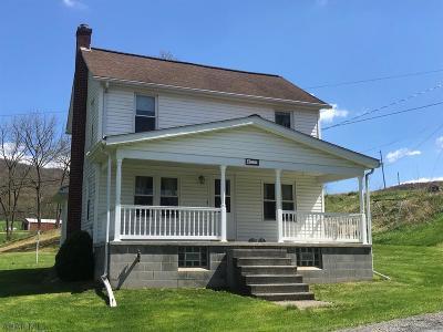 Single Family Home For Sale: 470 Bull Run Road