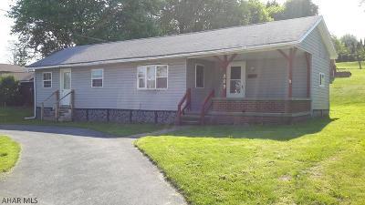 Ebensburg Single Family Home For Sale: 209 Reddinger St