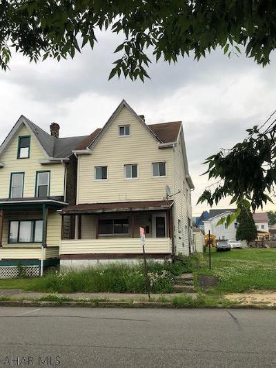 Altoona Single Family Home For Sale: 419 6th Avenue