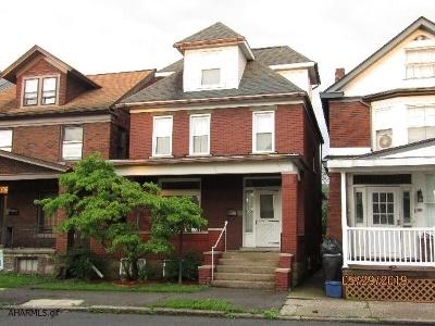 Altoona Single Family Home For Sale: 711 Crawford Avenue