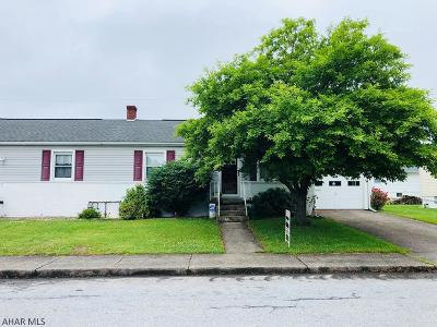Altoona PA Single Family Home For Sale: $85,900