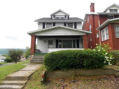 Altoona PA Single Family Home For Sale: $98,500