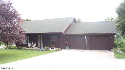 Blair County Single Family Home For Sale: 694 Cove Lane Road