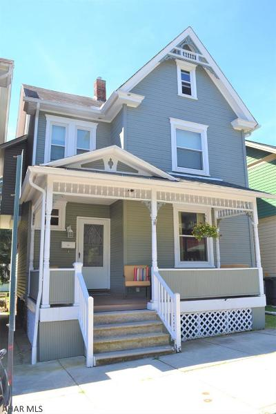 Hollidaysburg Single Family Home For Sale: 606 Mulberry Street