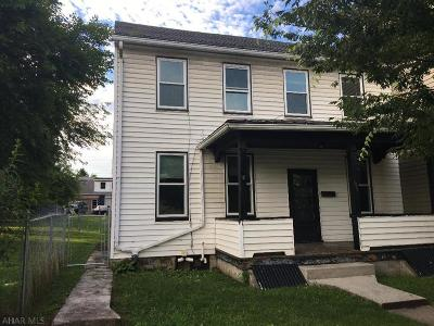 Hollidaysburg PA Single Family Home For Sale: $65,000