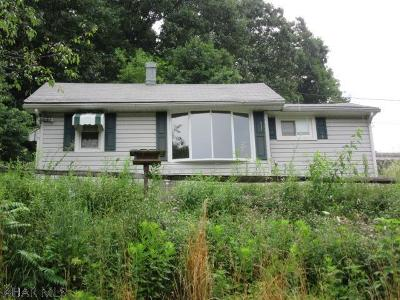 Blair County Single Family Home For Sale: 1466 Johnstown Road