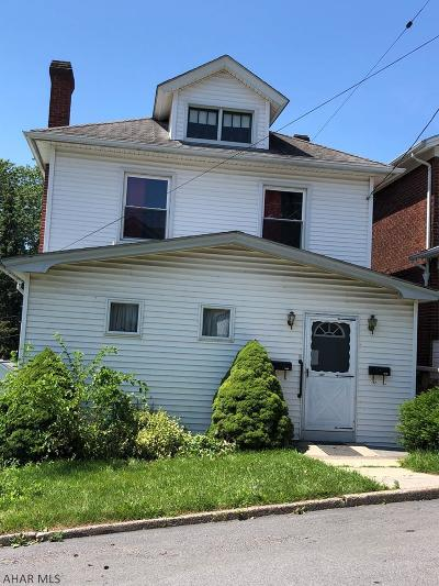 Altoona PA Multi Family Home For Sale: $78,000
