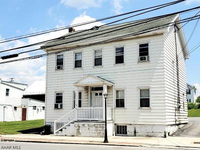 Martinsburg Multi Family Home For Sale: 113 S Market St
