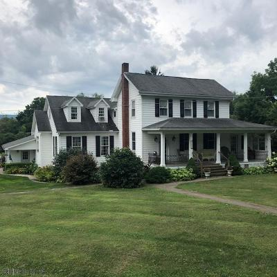 Martinsburg, Roaring Spring, East Freedom, New Enterprise, Woodbury Single Family Home For Sale: 3454 Brumbaugh Road
