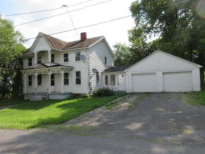 Bedford PA Single Family Home For Sale: $49,000