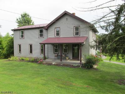 Hollidaysburg Single Family Home For Sale: 278 Brush Mountain Rd