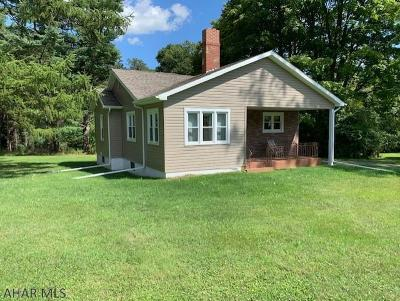 Ebensburg Single Family Home For Sale: 1221 Wilmore Road