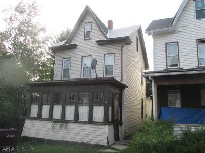 Altoona PA Single Family Home For Sale: $49,000