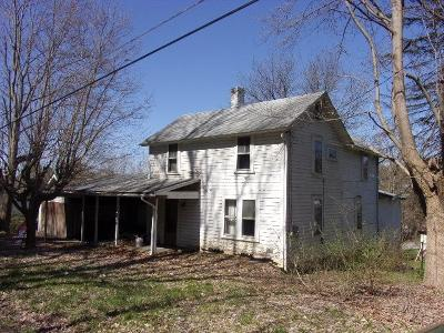Clarion Boro PA Single Family Home For Sale: $25,000