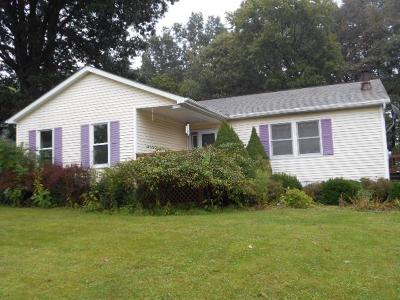 Clarion PA Single Family Home For Sale: $124,900