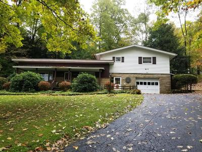 Clarion PA Single Family Home For Sale: $121,900