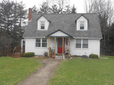Clarion PA Single Family Home For Sale: $74,900
