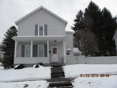 Venango County Single Family Home For Sale: 101 West Fifth Street