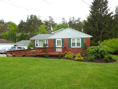 Clarion County Single Family Home For Sale: 6393 Route 36