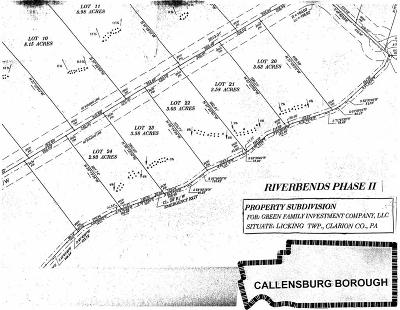 Parker PA Residential Lots & Land For Sale: $22,900