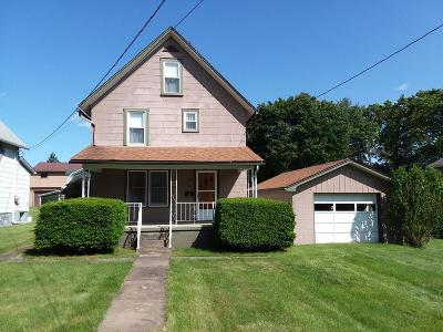 Clarion PA Single Family Home For Sale: $109,000