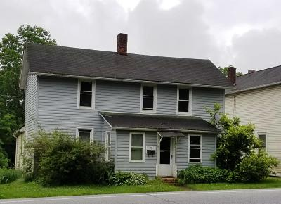 Clarion PA Single Family Home For Sale: $29,900
