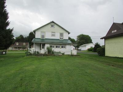 Lucinda PA Single Family Home For Sale: $40,000