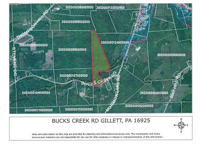 Gillett Residential Lots & Land For Sale: Bucks Creek Rd