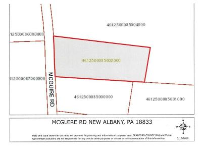 New Albany Residential Lots & Land For Sale: McGuire Road